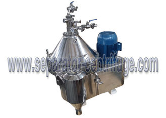 Automatic continuous disc stackSeparator - Centrifuge  algae extraction and concentration