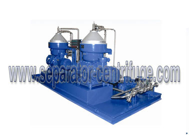 1500 LPH Marine Disc Centrifugal Separator Vertical for Diesel Lubricant Fuel