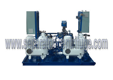 Cina 4000 LPH Automatic Marine Oil Purifier Disc Stack sentrifugal Separator pemasok