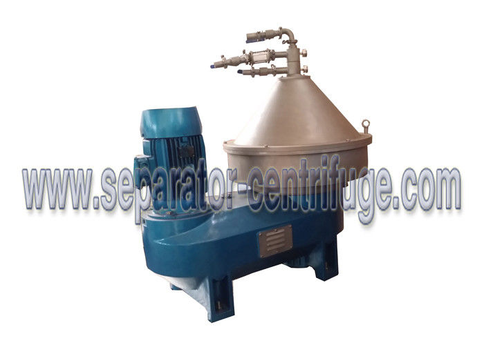 Large Capacity Disc Stack Centrifuges , Cream High Efficiency Separator