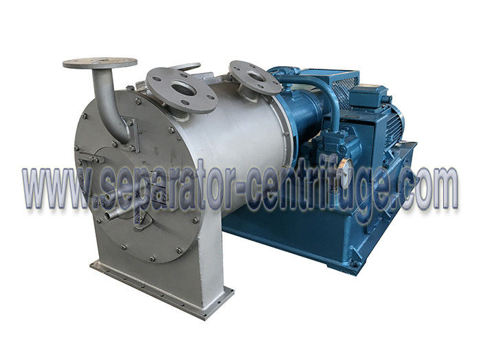 High Speed Automatic Food Centrifuge With 2 Stage Pusher Mineral