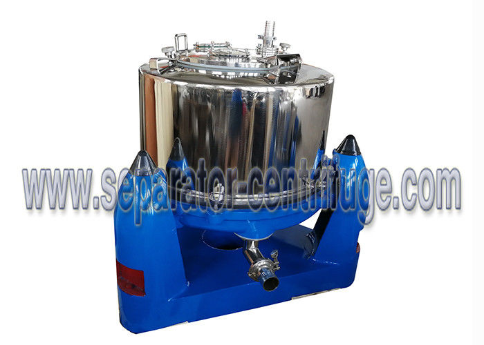 3 Column PTDM Manual Food Centrifuge / Filtrating Equipment with Intermittent Operation
