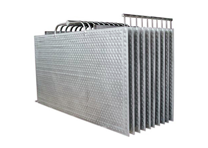 Double Embossed Dimple Plate Heat Exchanger for Heating or Cooling