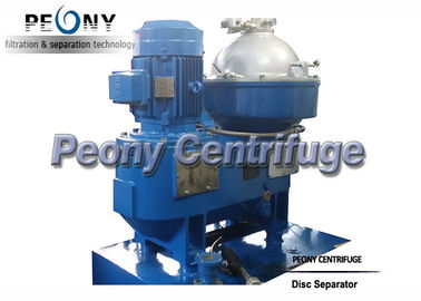Cina LO Selfcleaning Marine Fuel Oil Penanganan Sistem Disc Separator untuk Power Station Distributor