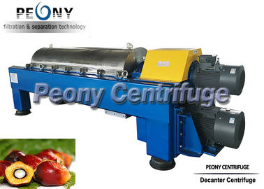 Cina Industrial Scale Automatic 3-Phase Decanter Centrifuge untuk Palm Oil Distributor