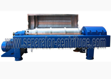 Cina Automatic Continuous Stainless Steel Liquid-Solid Decanter Centrifuge Peralatan PNX409 pabrik