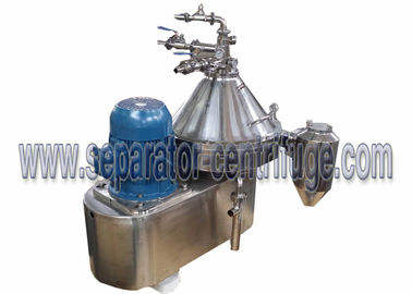 Cina Tiga Phase Disc Type Vertical Centrifugal Separator Oil Water Clarifying Centrifuge Machine pabrik