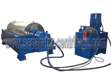 Cina Small Volume Drilling Mud Centrifuge dengan Struktur Horizontal Distributor